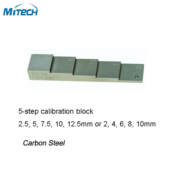5-Step Calibration Test Block two dimensional standard block image calibrator calibration plate standard glass block microscope calibration block