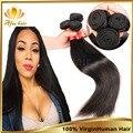Malásia virgem cabelo 4 Bundles malásia cabelo, Rosa produtos de cabelo barato extensão do cabelo humano frete grátis