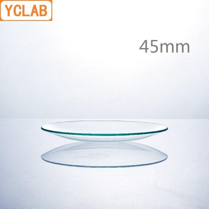 YCLAB 10PCS 45mm Watch Glass Laboratory Chemistry Equipment