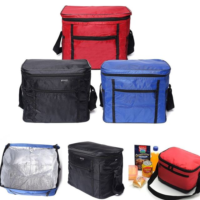 Outdoor 420D Oxford cloth Coolers Lunch Box Insulated Picnic Bags Tote Camping Bag Hiking lunch bag