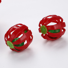 10 pcs Cats Ball with Bell Ring Playing Rattle Plastic Ball for Kitten Cat Toys Pet Cat Interactive Products