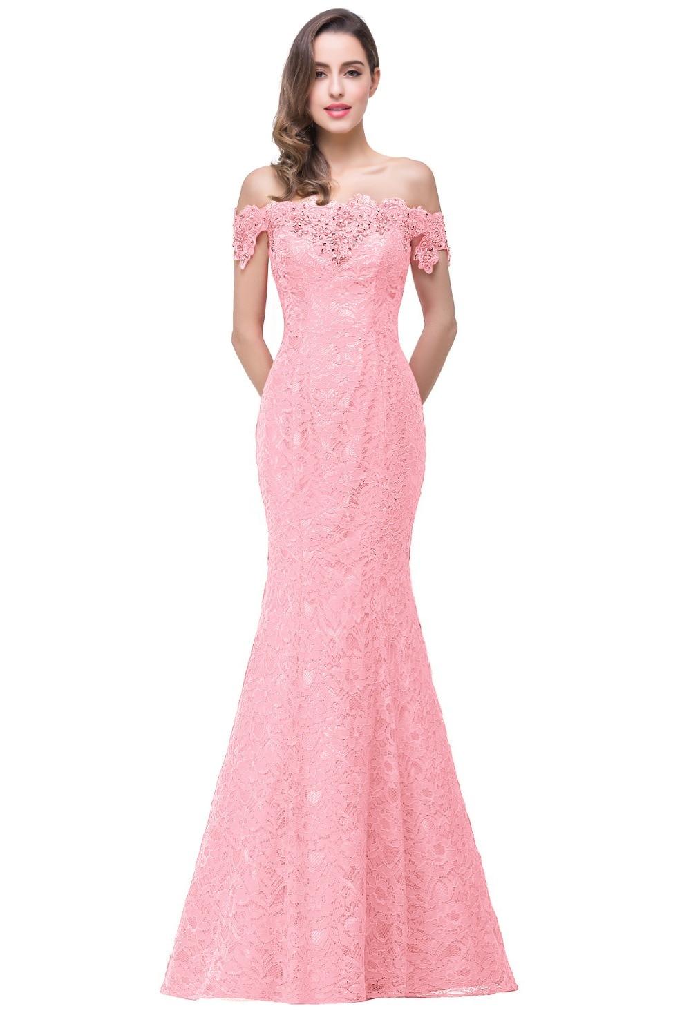 Vintage blanco rojo sirena del cordón del hombro vestidos de novia ...