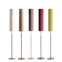 Modern Floor Lamp Minimalist Stainless Steel Standing Lamps for Living room Reading Lighting Loft Iron Floor light E27 LED bulb