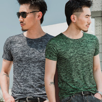 ww635 Spring and Autumn new men's short sleeved T shirt men's casual jerseys
