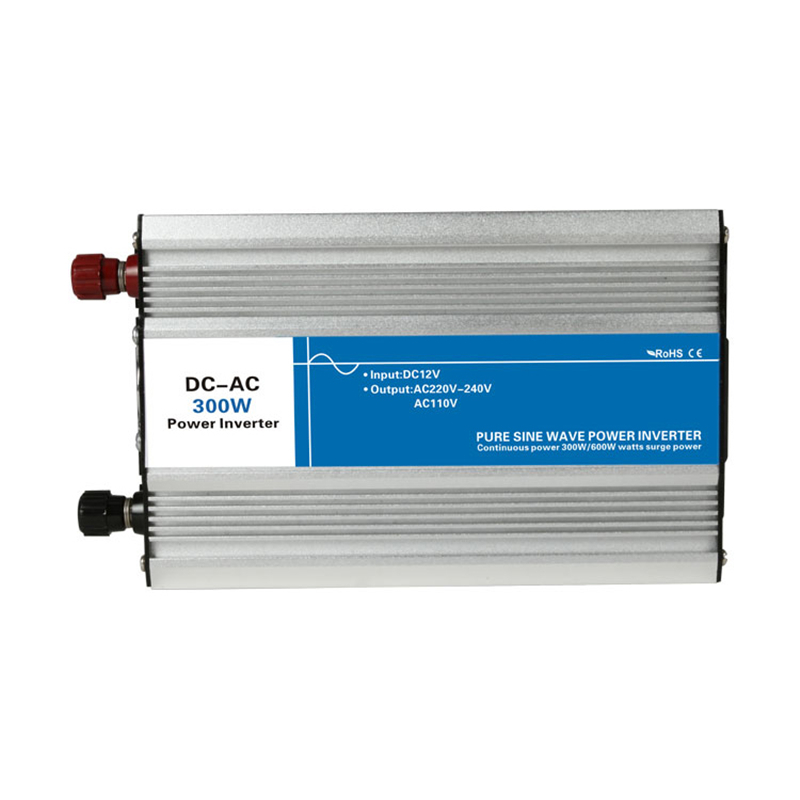 Puissance 300 W entrée DC 12 V 24 V 48 V à sortie AC 110 V 220 V onde sinusoïdale Pure hors réseau cravate onduleur personnalisé affichage de LED solaire 12 220