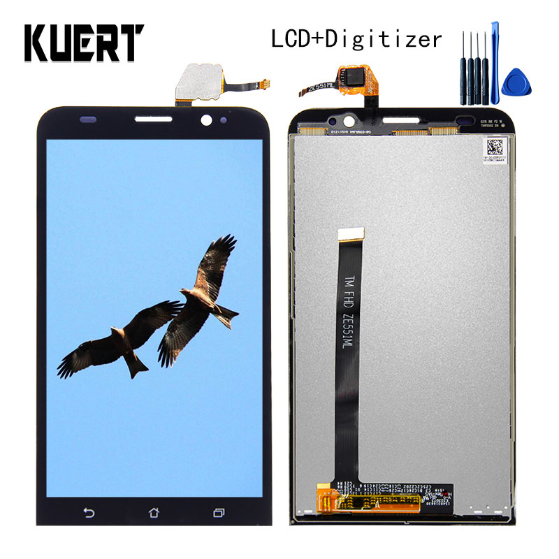 5.5 For Asus Zenfone 2 ZE551ML Z00AD Z00ADB Z00ADA Touch Screen Digitizer 1920x1080 LCD Display Assembly Free shipping