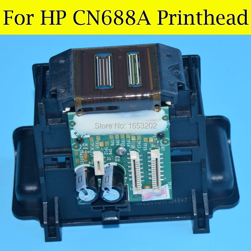 1 PC 100% New Original Nozzle For HP CN688A Printhead For HP Photosmart 3070A 4610 4615 4625 3525 4620 6510 7510 Printer Head cn642a for hp 178 364 564 564xl 4 colors printhead for hp 5510 5511 5512 5514 5515 b209a b210a c309a c310a 3070a b8550 d7560