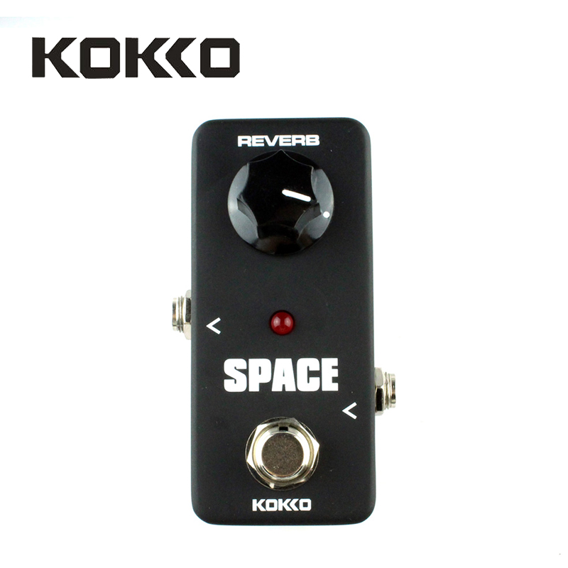 KOKKO Mini Pedal FRB2 Space Pedal Portable Guitar Effect Pedal High Quality Guitar Parts Accessories