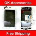 Черный Белый Цвет Более 10 ШТ. US $9.3/Шт Для Nokia Lumia 710 N710 Сенсорным Экраном Дигитайзер С Рамкой 1 Шт./лот Бесплатная доставка