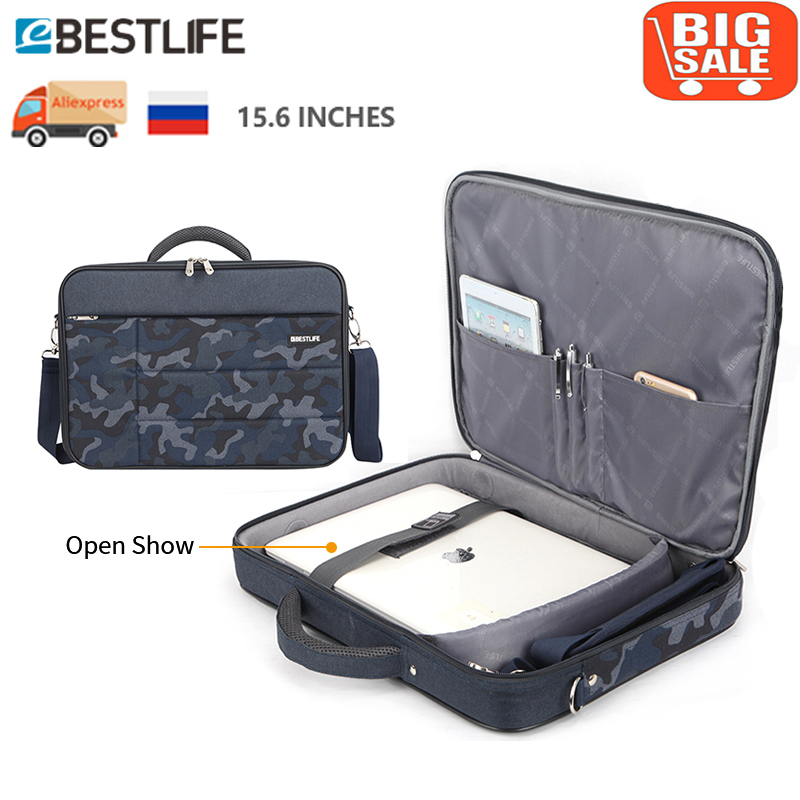 Bestlife Business Travel Laptop Bag Case Men Computer Shoulder Briefcase Case Messenger Bag Handbag Office Worker Use