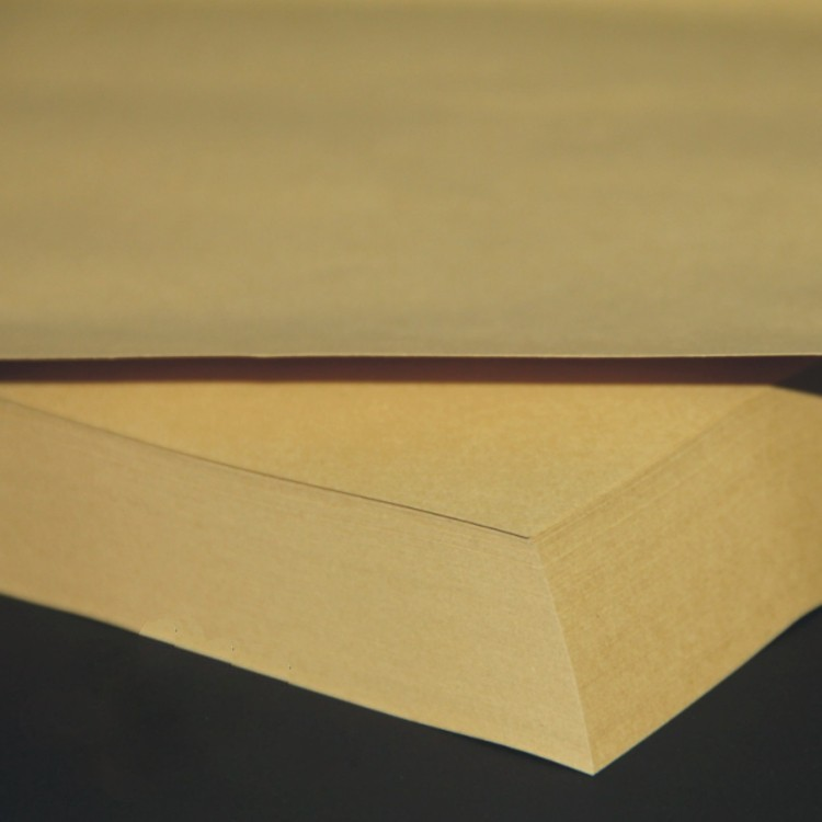 300gsm A4 Brown Kraft Paper Cardboard Wood Pulp Thick Paper 50