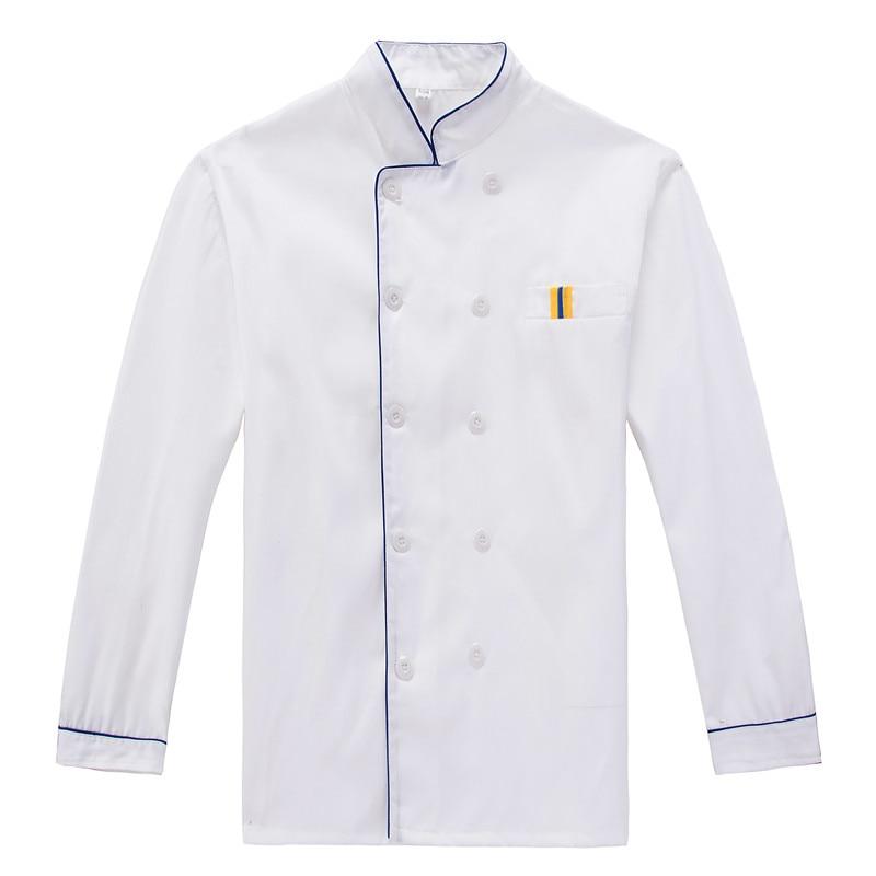 Chef Jacket Restaurant Kitchen Uniforms Waitress Chef Uniform Summer 3XL 4XL Dropshipping
