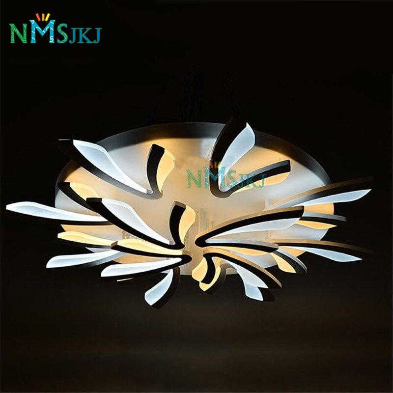 Acrylic Modern White led Ceiling Lights for Living Room Bedroom Kitchen Lighting Ceiling Lamp Home Lighting Light Fixtures
