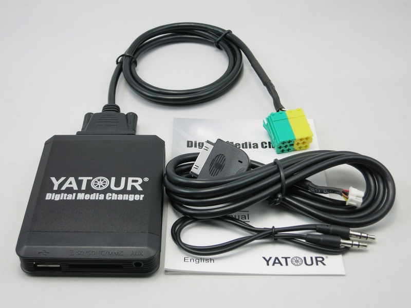 Yatour YTM07 Car USB SD AUX Bluetooth ipod iphone interface for Toyota Aygo/Peugeot 107/Citroen C1 Digital Music MP3 Plyer car digital music changer usb sd aux adapter audio interface mp3 converter for toyota yaris 2006 2011 fits select oem radios