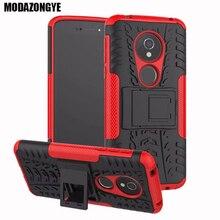 For Motorola Moto E5 Case Moto E5 Case Hybrid Silicone + TPU