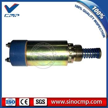 12 V válvula solenóide de parada Escavadeira 125-5771 9X-5312