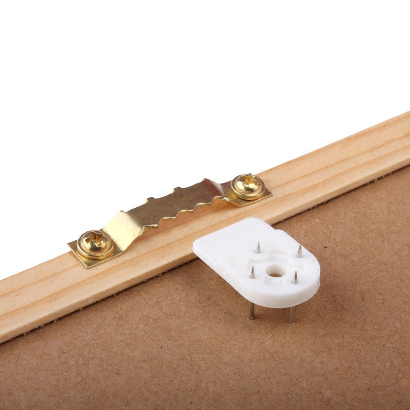 1 set Photo picture frame hanger Seamless hook Wall Nail invisible hide back Hardware Accessories