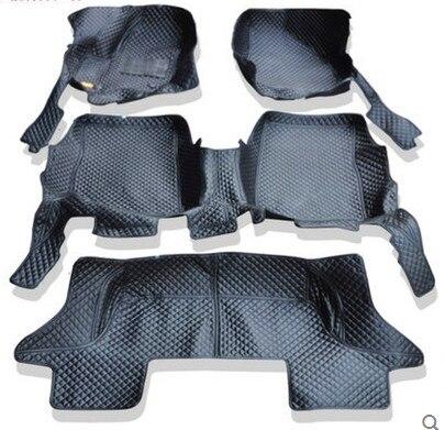 Bonne qualité! Tapis de sol spéciaux personnalisés pour Honda Pilot 7 sièges 2018 tapis de voiture durables imperméables pour Pilot 2017, livraison gratuite