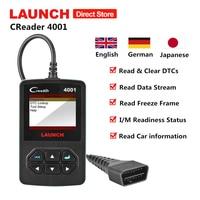 Launch Creader 4001 OBD2 Scanner OBD Car Code Reader CR4001 Auto Diagnostic Tool Automotive ODB Scaner pk Creader V+ Autel AL319