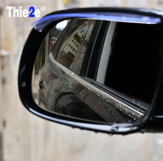 Acessórios do carro Espelho Retrovisor Chuva Capa para Volkswagen vw POLO Tiguan Golf Passat EOS Scirocco Jetta Bora Lavida Touareg
