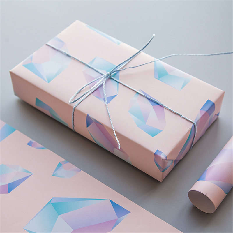 Diamonds Birthday Wrapping Gift Wrap Artware Packing