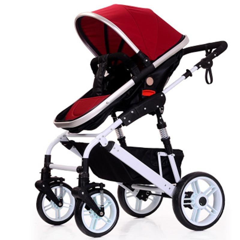 Newborn baby stroller aluminum alloy baby pram 0-3 year old Russia