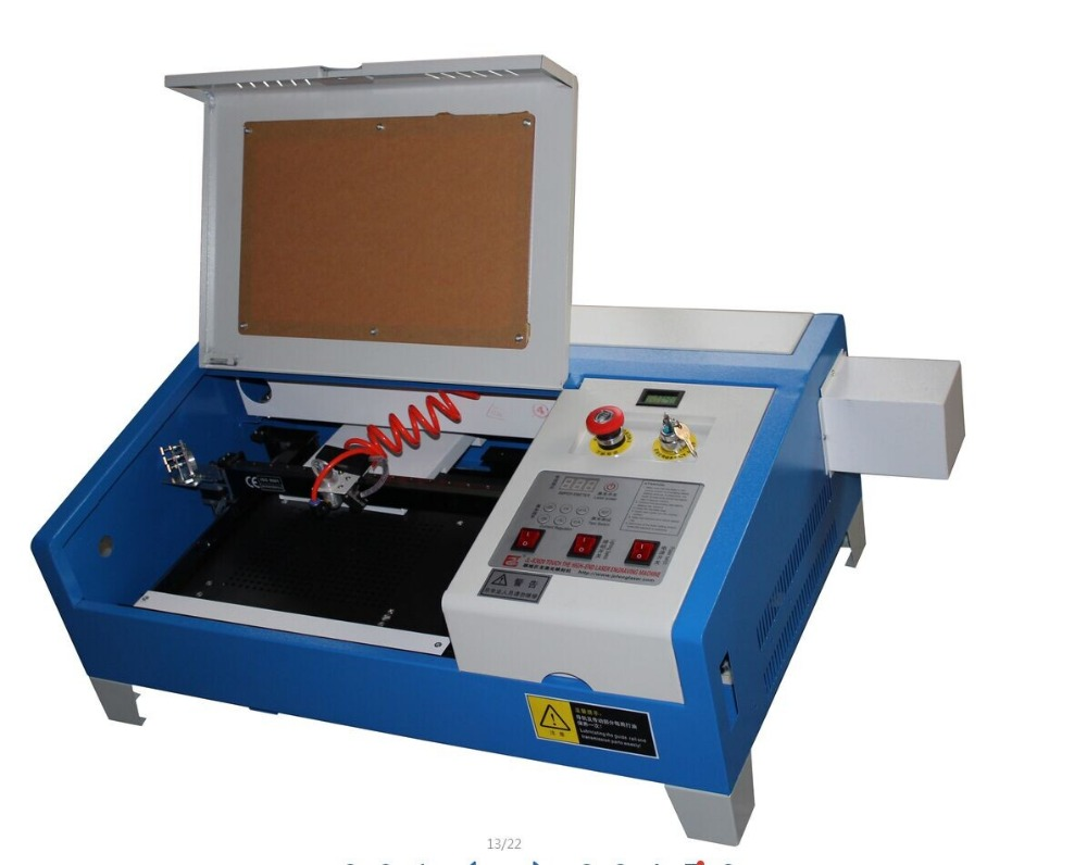 Ship to Russia, no tax,3040 CO2 Laser Engraving & Cutting machine,50W all functions laser CNC router woodworking cnc router 3040z d 300w spindle engraving cutting milling machine free ship to russia no tax