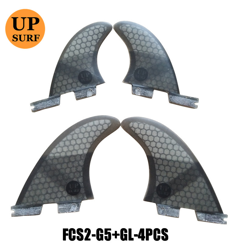 fcs2 g5/gl quad 4 fins sets surfboard fins stand up fcs 2 water sports fcs ii fins quilla surf stand up paddle fin