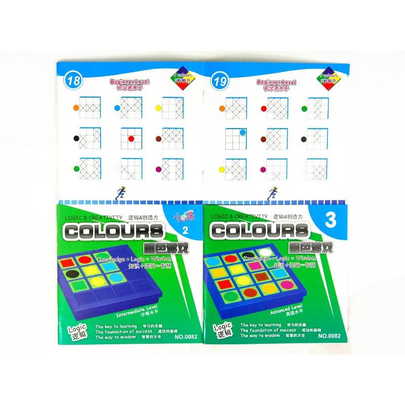 Farbe Logic Quadratischen Block Spielzeug Kinder Bildung Lernen IQ ...