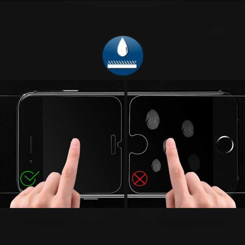 Verre trempé pour iPhone X XS Max XR 11 Pro Max 6 6s 7 8 Plus 5 5s SE 4 4s 5C Premium protecteur d'écran housse de protection