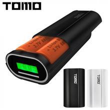 USB литий-ионная батарея зарядное устройство Портативный ЖК-дисплей Smart DIY Мобильный запасные аккумуляторы для телефонов Чехол Поддержка 26650 батареи и два выхода для смартфонов