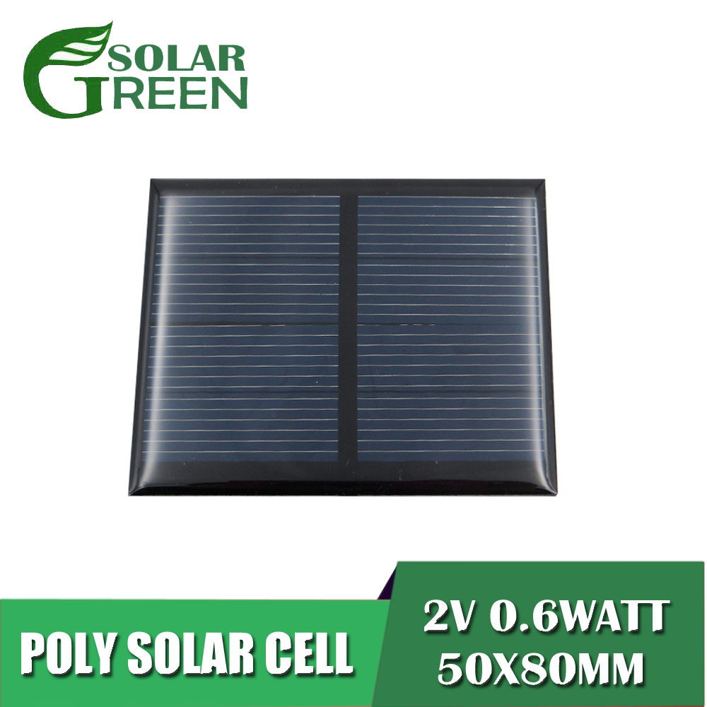 Electrical Equipments & Supplies Mini 1.5v 0.65w 435ma Solar Panel Polycrystalline Solar Cells Supply Power Panel Module Diy Battery For Cell Phone Toy Chargers