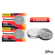 2 шт. бренд для PANASONIC cr2025 ECR2025 BR2025 DL2025 KCR2025 LM2025 3 В литиевая батарейка для часов
