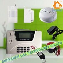 Беспроводная GSM PSTN Двойного Сети Сигнализации Голосовые Подсказки 99 Беспроводных Зон Дом Система Безопасности