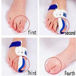 Image 4 - Orthopedic Bunion Corrector Device Hallux Valgus Toe Correction Pedicure Foot Care Legs Thumb Goodnight Daily Big Bone Orthotics