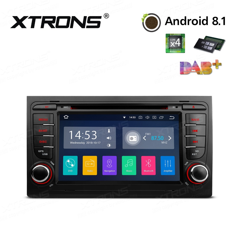 "XTRONS 7"" Android 8.1 Radio GPS Car DVD Player RCA RDS USB"
