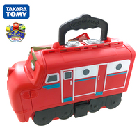 Takara Tomy Chuggington Trains 35cm Wilson Collection Storage Box Toy Cars No Cars Gift New