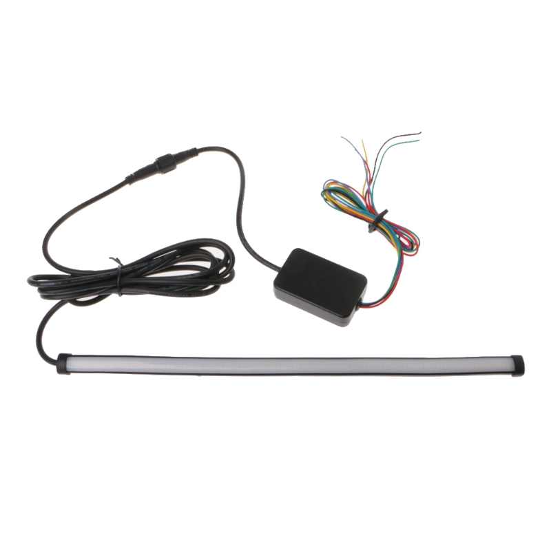 12 5 mode Car Flexible Switchback LED Knight Rider Strip Light For Headlight Sequential Flasher DRL 1/2 LED Strip Car Lights
