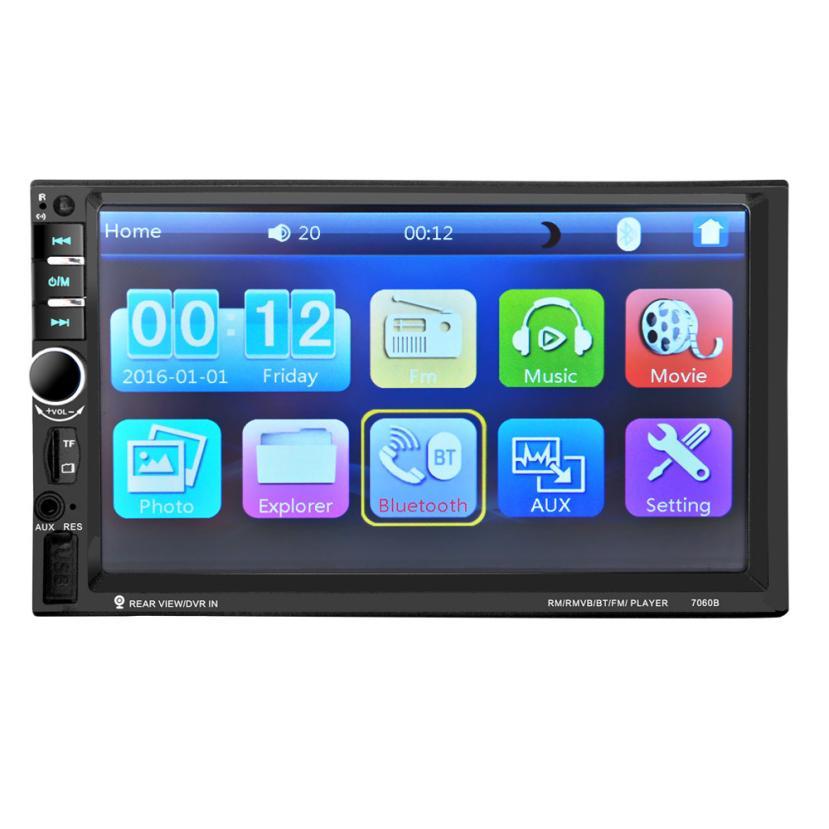 Auto Radio 7'' HD Bluetooth Touch Screen Car Stereo radio 2 DIN FM/MP5/MP3/USB/AUX  jul5 7 hd bluetooth touch screen car stereo radio 2 din fm mp5 mp3 usb aux camera 318