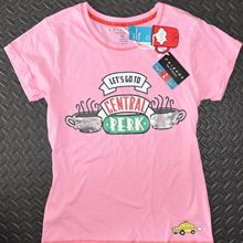 ea87bddde2 Amigos PRIMARK PJ camiseta floja Fit CENTRAL PERK lentejuelas Womens Ladies  tamaños UK Cool Casual orgullo