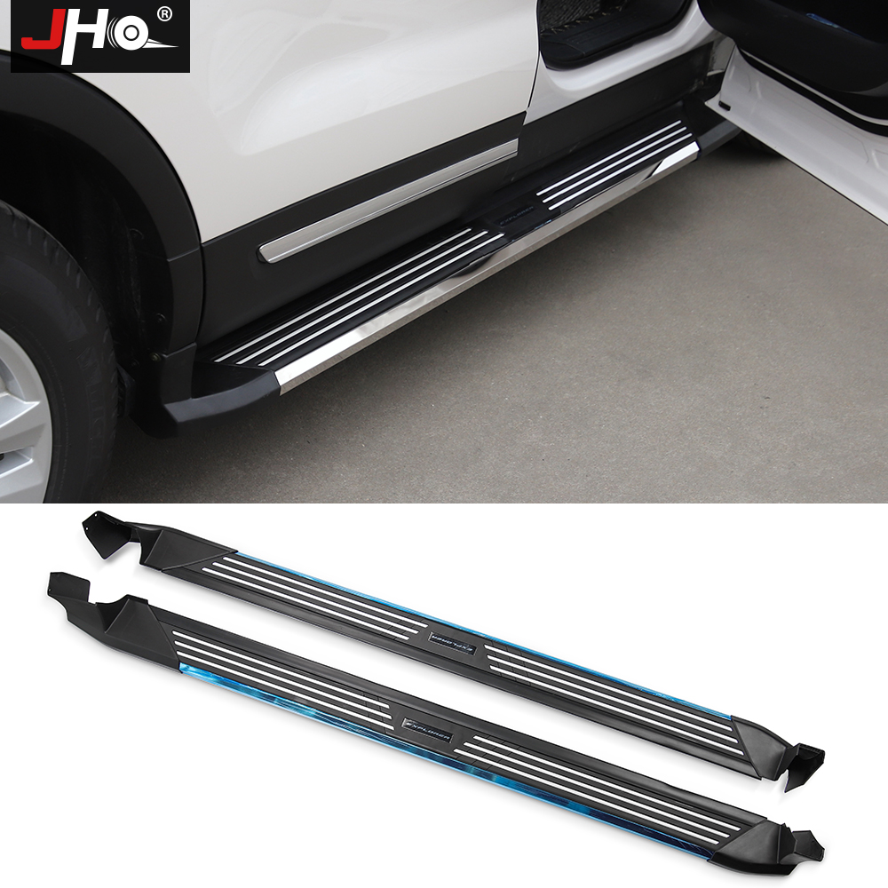 Ford Running Boards >> Us 615 12 12 Off Jho Car Accessories Side Step Running Boards For Ford Explorer 2011 2019 2012 2013 2014 2015 2016 2017 2018 In Nerf Bars Running