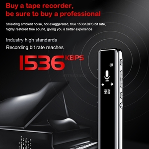 Image 5 - STTWUNAKE مسجل صوت رقمي صغير الصوت القلم الإملاء مسجل صوت صغير صوت تنشيط تسجيل فئة الاجتماع