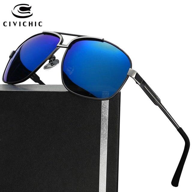 24a05a447b7c8 CIVICHIC Hot Fashion Men Polarized Sunglasses Driving Glasses Hipster Frog  Mirror Gafas Retro Lunettes Police Oculos De Sol E191