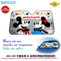 car accessories Cartoon Mickey mouse  front window sunshade Foils Windshield Visor Co47