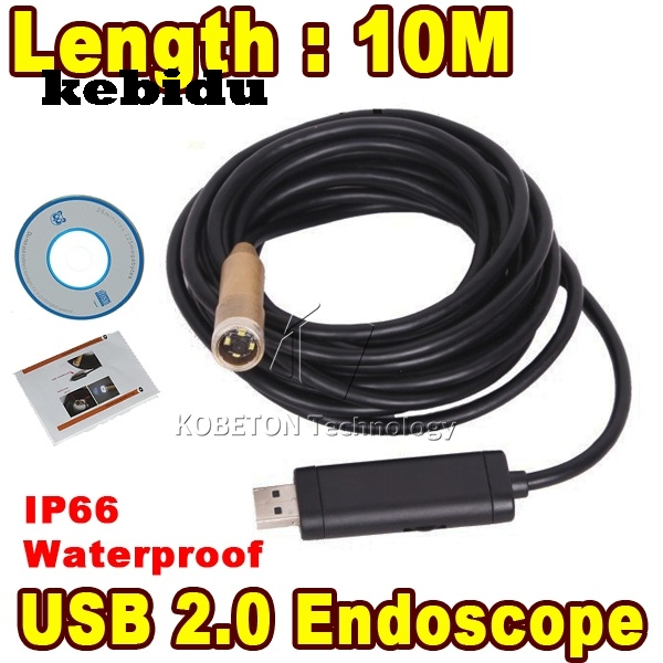 Camcorders Systematic Kebidu 10m Ip66 Waterproof Mini Usb Endoscope Inspection Camera 4 Led 14mm Lens Mini Borescope Snake Tube Camera Endoscopio Special Buy