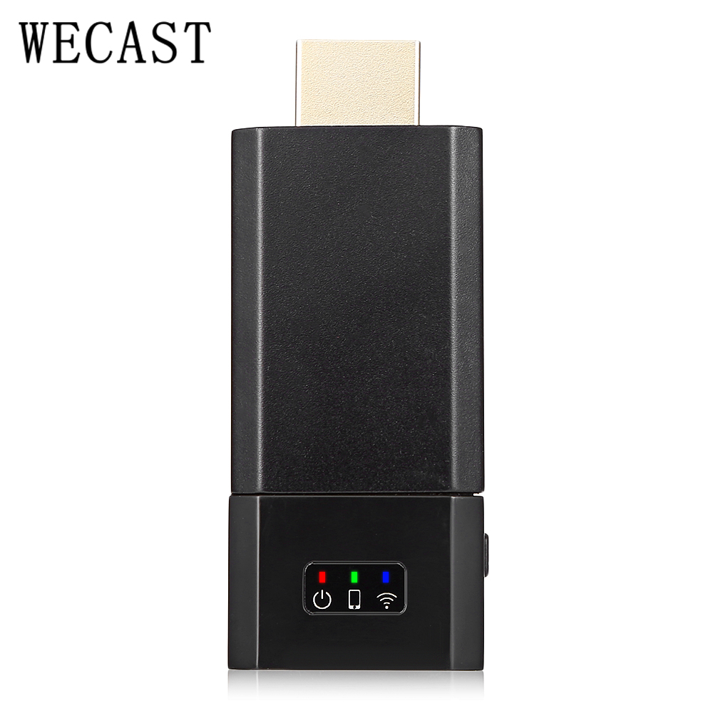 Wecast C8 Wireless HDMI Dongle for Chromecast Miracast Airplay DLNA Adopts Dual Cortex A7 processor, compatible with Chromecast