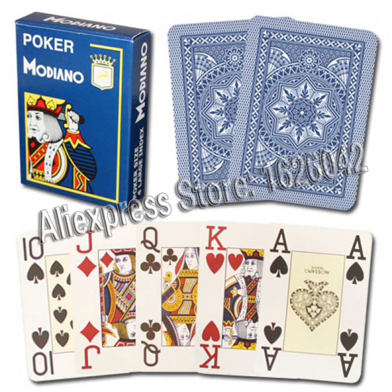 XF Modiano 4 cartes marquées latérales Jumbo pour analyseur de Poker - 3