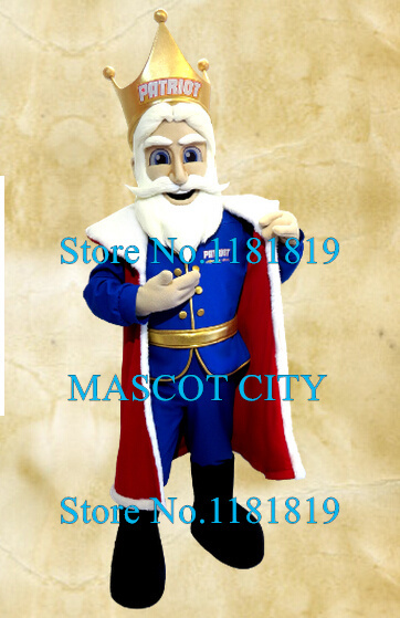 MASCOT CITY the kind old king mascot costume adult cartoon king theme anime cosplay costumes carnival mascotte fancy dress kits