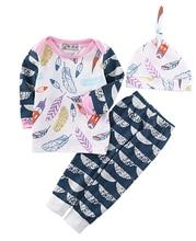 Newborn Baby Girls Clothes Long Sleeve Tops T-shirt + Pants Leggings Outfits Set