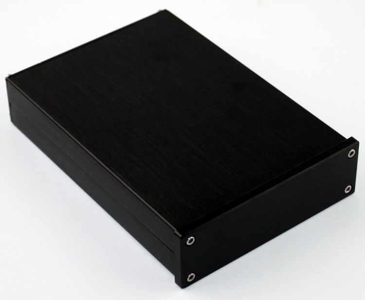 WA42 Penuh aluminium digital amplifier chassis/Amp amplifier/DAC Decoder/AMP Enclosure/kasus/DIY box (118*36*167mm)